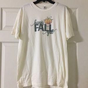 Happy Fall T-shirt XL